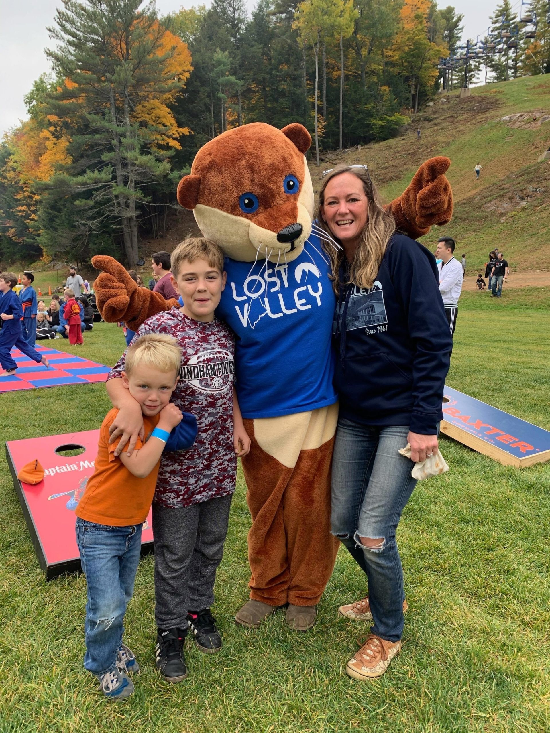 family fall festival at Lost Valley