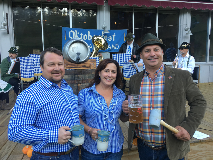 real oktoberfest in maine